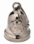 Fire Department Chrome Motorcycle Bell