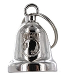 POW MIA Chrome Motorcycle Bell
