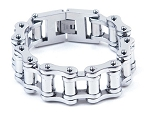 Stainless Steel Biker Motorcycle Chain Bracelet