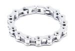 Single Link Motorcycle Chain Bracelet