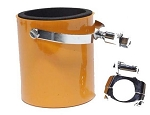 Orange Motorcycle Handlebar Drink Cup Holder