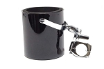 Gloss Black Motorcycle Handlebar Drink Cup Holder
