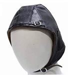 Insulated Leather Aviator Cap