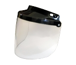 Clear Flip-up Motorcycle Helmet Bubble Shield
