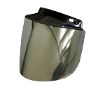 Mirror Flip-up Motorcycle Helmet Bubble Shield