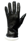 Women's Leather Gloves with Insulation