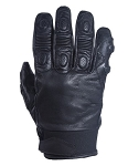 Mens Leather Riding Gloves with finger protectors