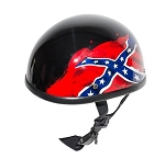 Rebel Flag Novelty Motorcycle Helmet