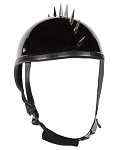 Novelty Motorcycle Helmet With Spikes