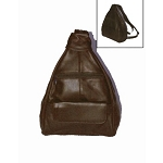 Womens Brown Shoulder Bag and Back Pack