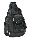 Womens Black Shoulder Bag BackPack