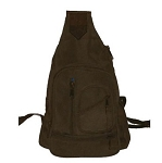 Womens Brown Shoulder Bag BackPack