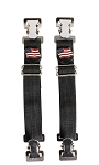 USA Flag Biker Boot Pant Alligator Clips