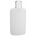 12oz Plastic Flask with Sot Cup