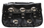 Large Motorcycle Saddlebags With Studs