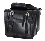 Waterproof Leather Motorcycle Saddlebags