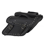 Studded Saddlebags for Harley Davidson Dyna's