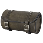 Dark Brown Leather Motorcycle Tool Bag